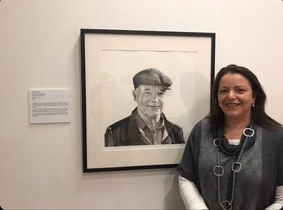 Kathryn Ryan at Warrnibool Art Gallery A Generous Spirit- Portrait of Frank Ryan