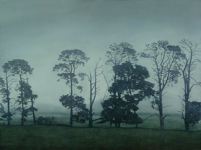 South West Paddocks, oil on linen 137 x 183cm $16,500.
