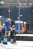 Line up of Cab ends at Lime St working from the 142 back they are as follows <br /> <br /> 142 039 / 156 441 / 150 143