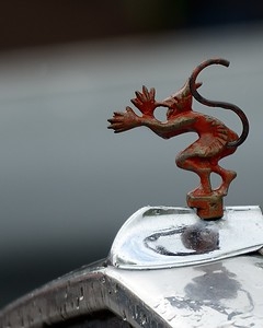 Ford Bonnet Mascot - Griffin 2 - 2016 Autumn Classic Prescott Speed Hill Climb