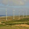 Wind farm on Aruba's coast