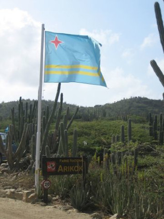 Aruba's flag