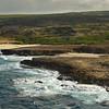 Aruba's coast at Boca Prins