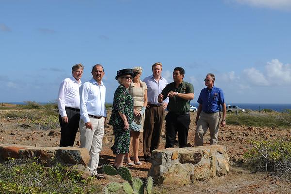 Queen Beatrix' visit to Arikok National Park (Aruba, 2012)