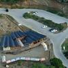 Aerial photo of Parke Nacional Arikok's visitor center