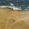 Aerial view of Aruba's coastline
