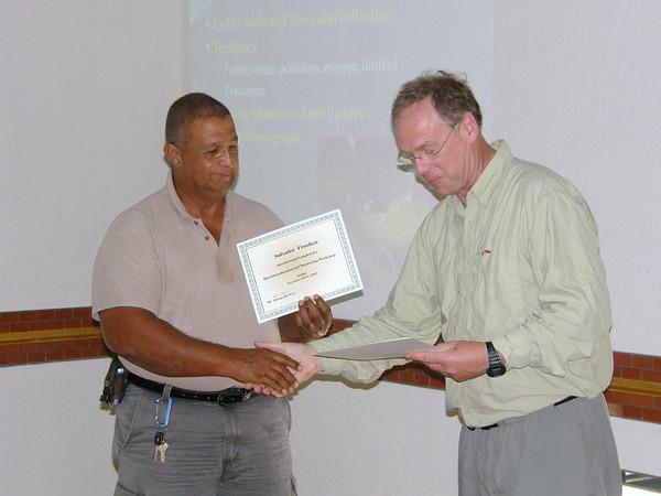 Bird monitoring workshop, Aruba (2008)