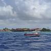 Fishermen on Aruba's southern coast