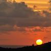 Sunrise from Miralamar, Parke Nacional Arikok