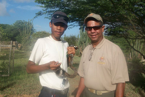 Bonaire Junior Rangers visiting Parke Nacional Arikok in Aruba (2012 Ranger Exchange Program)