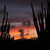 Sunset near Hooiberg