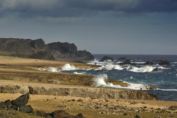 Coastline near Isla Moro