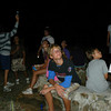 At night, Junior Rangers enjoy themselves by watching the stars