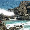 Natural pool on Aruba's coast