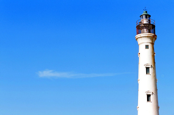California Lighthouse, Arasji Dunes, North Aruba