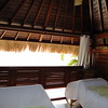 Balinese style Beachfront Massage Huts at Spa del Sol.