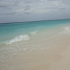 The clear waters and prisitne beach!