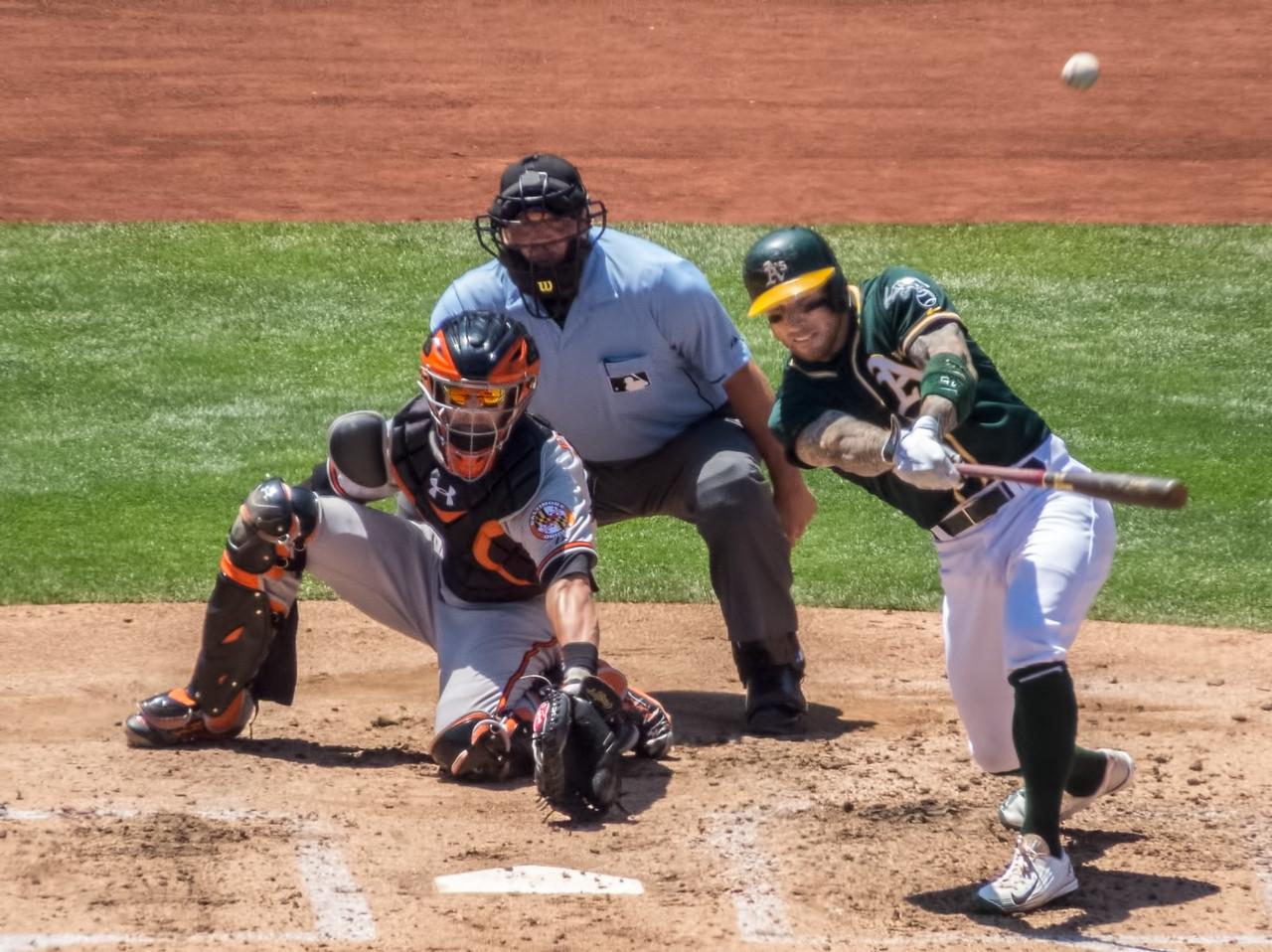 Base hit for Brett Lawrie