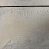 Inscription for Abigail's husband, Capt. Elisha Hinman