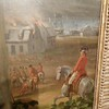 Close up view of Benedict Arnold in the painting