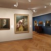 The painting is in the permanent collection gallery