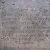 Inscription on Shapley's stone