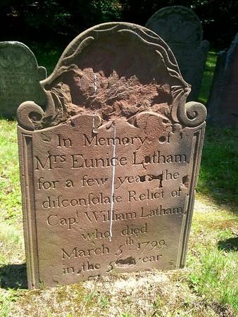 Eunice Forsythe Latham Grave
