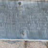 """Close up of the plaque. Note the wording: """"THE TRAITOR, BENEDICT ARNOLD."""""""