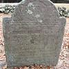 The gravestone of Moses Jones