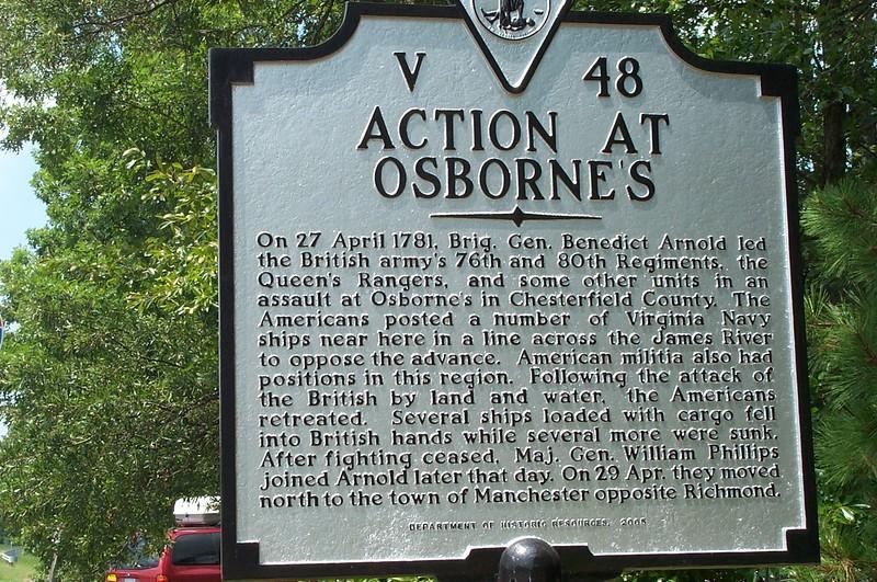 Action at Osbornes Marker