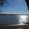 View of the James River from the Berkeley Plantation property