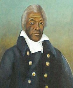 Painting of James Armistead Lafayette.<br /> Image is in the public domain.