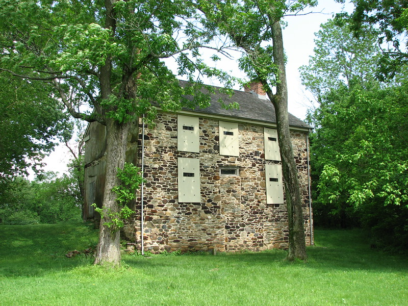 Oldest building on the site, which dates to the time Revolutionary War travelers passed through here