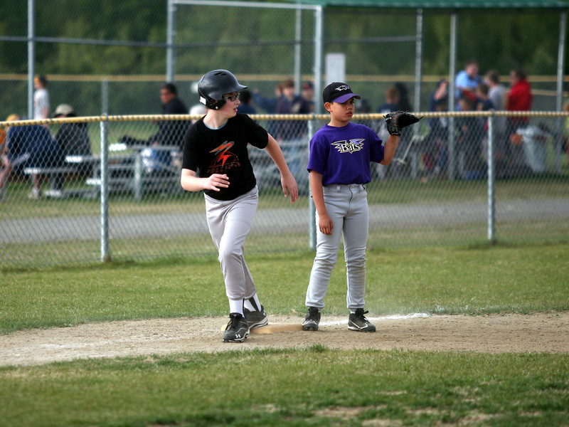 Dawson on Third - Volcanoes Baseball