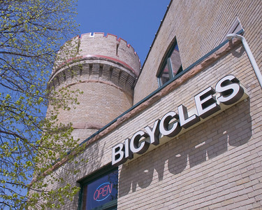 Bicycles open