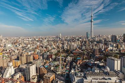 Asakusa and Tokyo Skytree