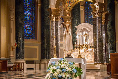 philly ascension latinmass cathedral basilica altar maria statue 2 (1 of 1)