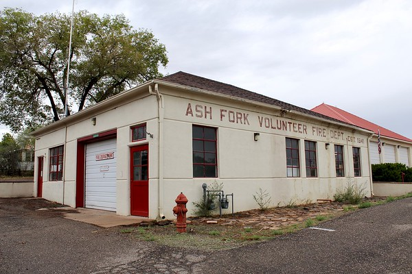 Ash Fork fire station (2018)