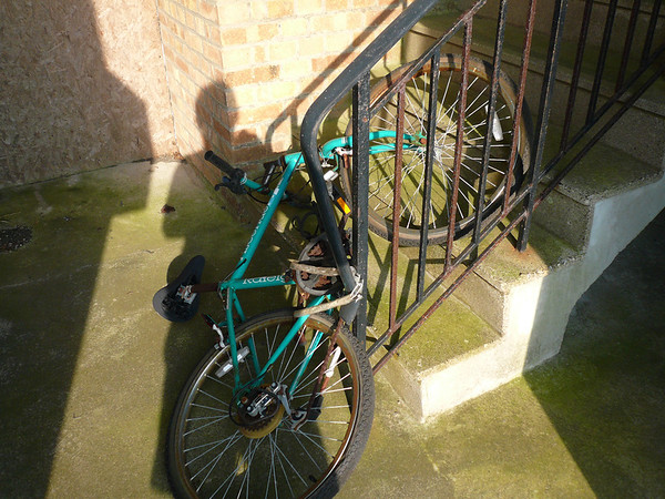 Unwanted bike