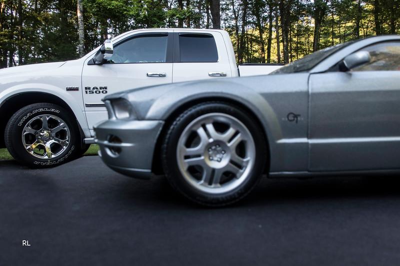 Gloria's New Mustang