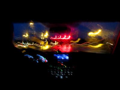 Night Scene City Lights