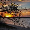 N  Carolina Beach Sunset
