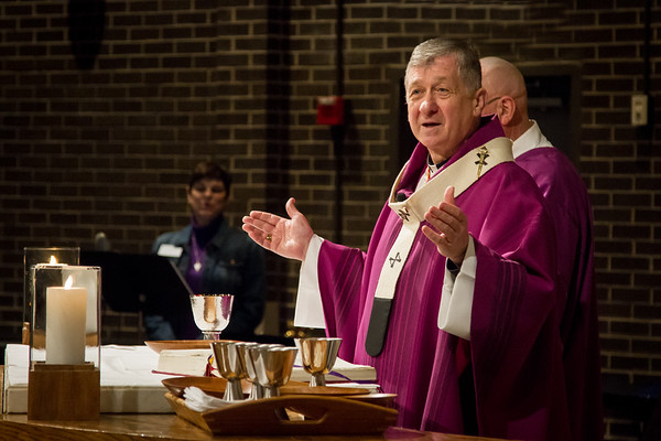 Ash Wednesday with Cardinal Cupich