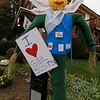 Ashburnham is being taken over by scarecrows which you can go see in the downtown. This one was made by the Girl Scouts. SENTINEL & ENTERPRISE/JOHN LOVE
