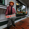Ashburnham is being taken over by scarecrows which you can go see in the downtown. This one was made by DiMacale & Gracie Real Estate. SENTINEL & ENTERPRISE/JOHN LOVE