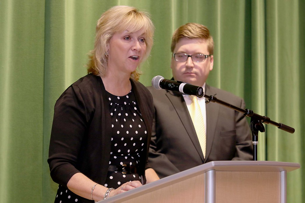 . Ashburnham-Westminster Special Education Parent Advisory council held their first remarkable inspiration in special education awards on Thursday, May 3, 2018. State Representatives Kim Ferguson and Jon Zlotnik addressed the crowd at the event. SENTINEL & ENTERPRISE/JOHN LOVE
