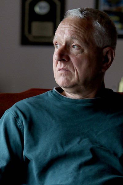 Leo Janssens of Ashburnham a former town selectman and member of the Advisory Board and now a member of the Zoning Board of Appeals at his home on Saturday afternoon, May 12, 2018. SENTINEL & ENTERPRISE/JOHN LOVE