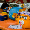 Decorated pumpkins on display during the Ashby Pumpkin Fest on Saturday afternoon. SENTINEL & ENTERPRISE / Ashley Green