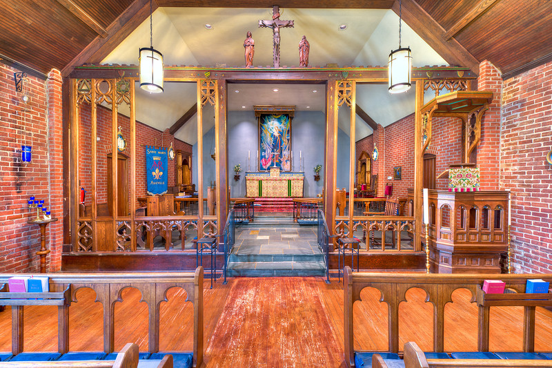 Photo of St. Mary's Church in Asheville, NC