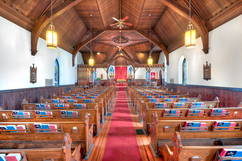 Photo of St. Matthias' Episcopal Church in Asheville, NC